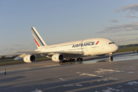 A380 in Montreal © Caroline Bergeron für Air France