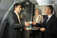 Bar in Affaires Business Class © Lindner for Air France