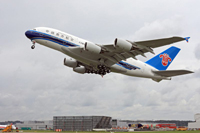 First A380 of China Southern Airlines © Airbus