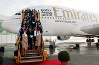 6000th Airbus aircraft © Emirates Airlines