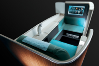 First Class seat in Korean Air A380 © Korean Air