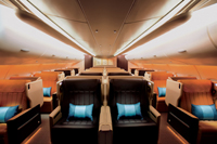 Singapore Airlines Business Class © Singapore Airlines