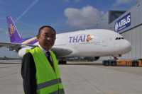First A380 for Thai Airways © Airbus