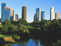 Skyline of Houston, Texas © Greater Houston Convention and Visitors Bureau